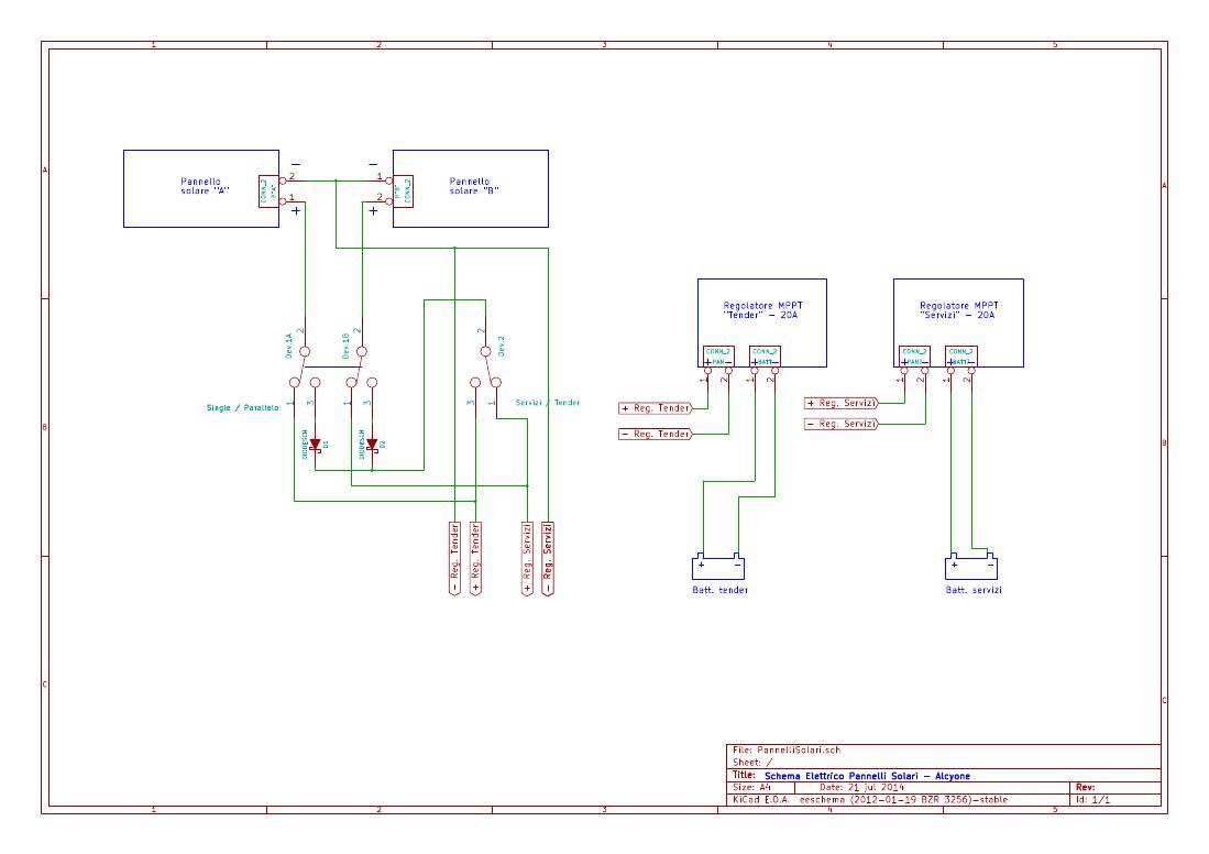 Schema Elettrico Per Xing : Installazione pannelli solari massimo rossi