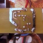 circuito stampato stagnato