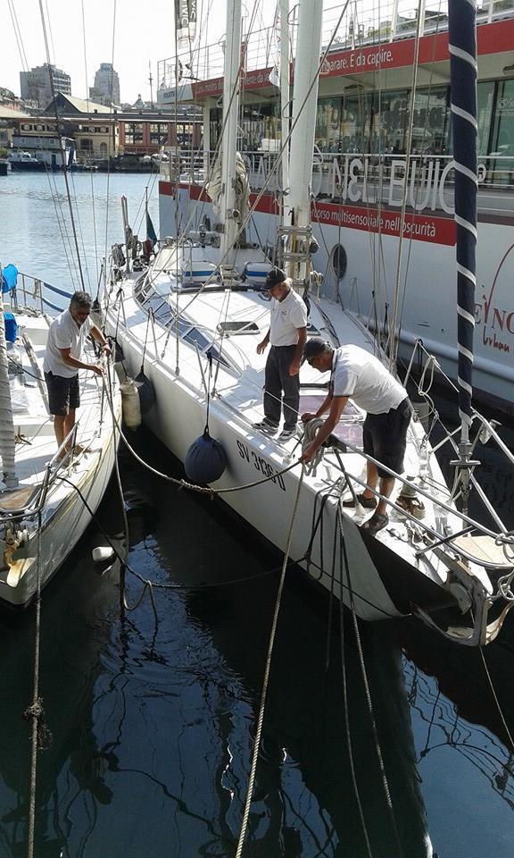 Barche in Darsena