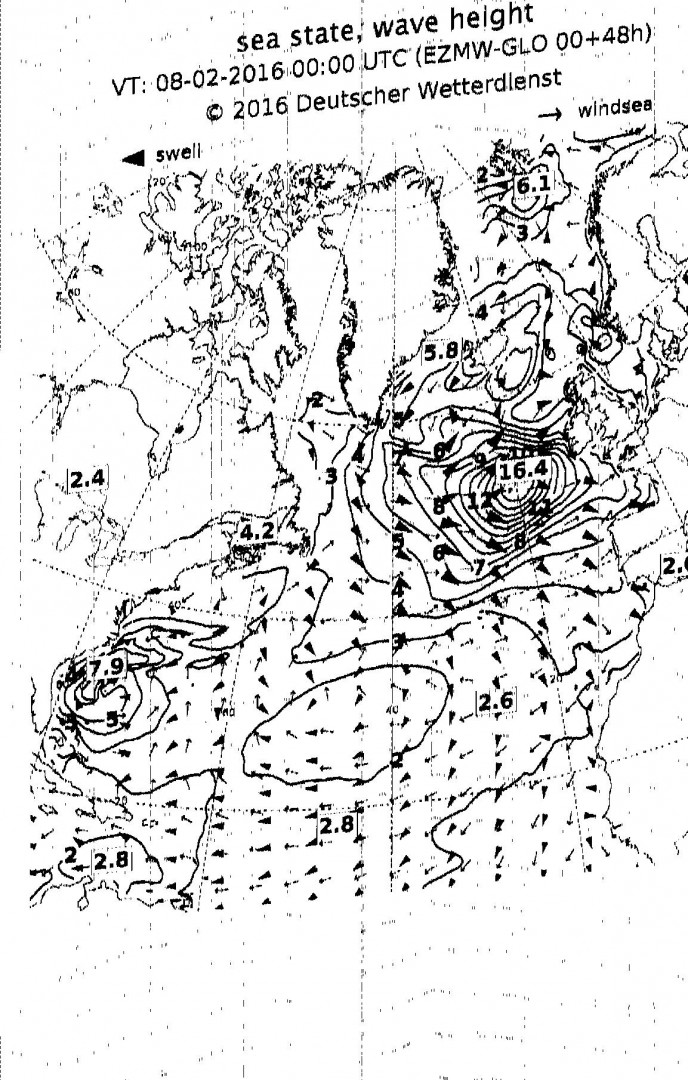 Meteofax nord atlantico