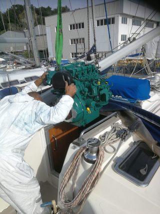 Imbarco nuovo motore