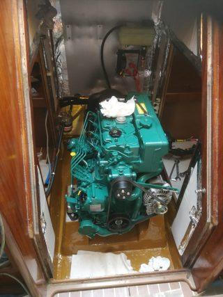 Motore installato